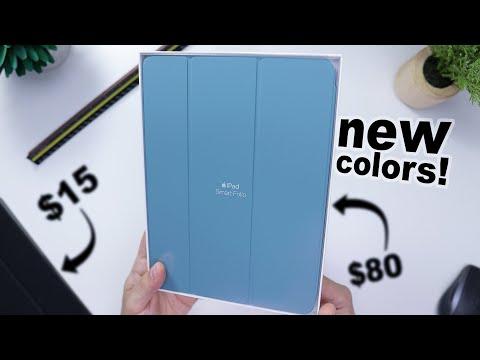 New IPad Pro Smart Folio In Surf Blue & Cactus! Cheap Alternatives? Worth It?