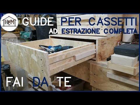 guide per cassetti ad estrazione completa - youtube