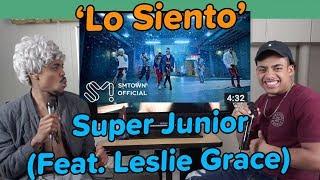 Download Lagu SUPER JUNIOR 슈퍼주니어 'Lo Siento (Feat. Leslie Grace)' MV | REACTION Mp3