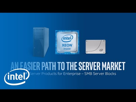 High-Performance SMB Server Solutions | Intel Business
