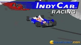 Indycar Racing gameplay (PC Game, 1993)