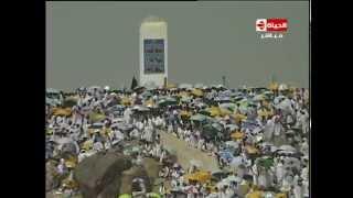 لبيك اللهم لبيك.. لبيك لا شريك لك لبيك .. 3 ملايين مسلم يناجون الله في جبل عرفات