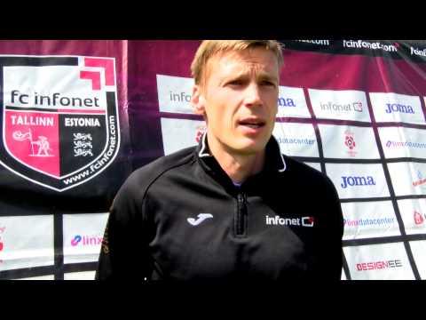 FC Infonet: Intervjuu Aleksandr Dmitrijeviga