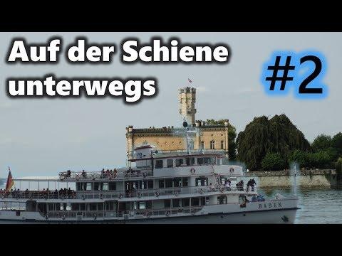 Auf der Schiene unterwegs #2 - Auf... an den Bodensee - mit Br 111, 218, 245, 650, uvm.