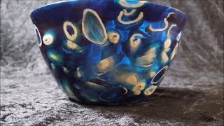 possible to make Pistachio bowl with resin??