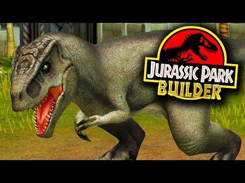 ALOSSAURO NOVO DINOSSAURO! - Jurassic Park Builder - Ep 21