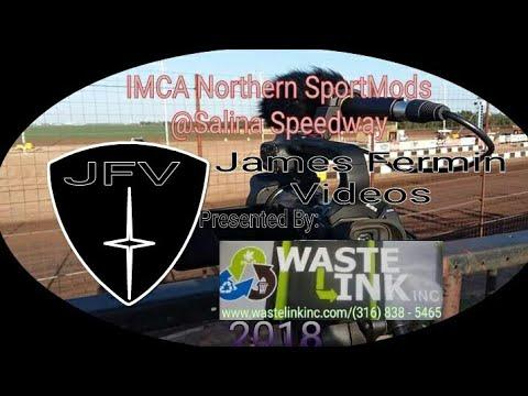 IMCA Northern SportMods #2, Heat 2, Salina Speedway, 2018