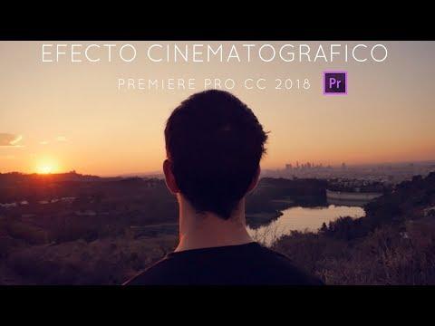 Efecto Cinematografico. Premiere Pro CC 2018. Mejora la calidad de tus videos.
