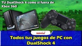 Todos tus juegos de PC con DualShock 4