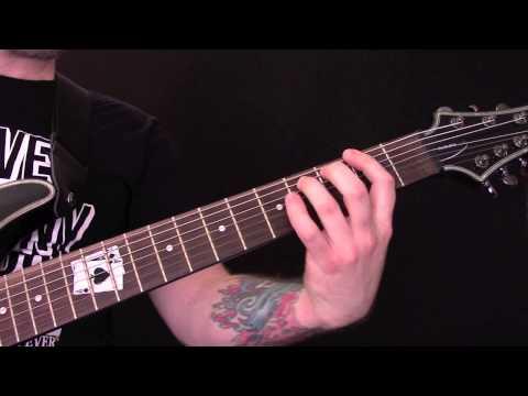 Behemoth - Ov Fire And The Void Guitar Tutorial