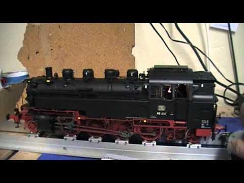 Kiss BR 86 mit KM1 Rauchgenerator und ESU Loksound XL V4.0