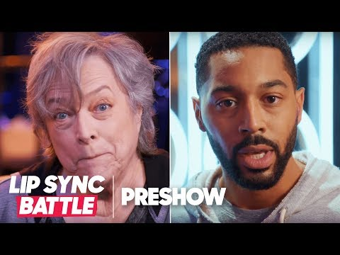 Kathy Bates vs. Tone Bell  w Niki DeMartino  Lip Sync Battle Pre