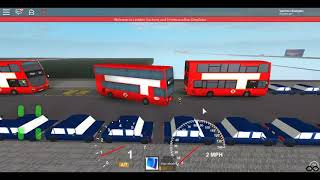 Roblox London Hackney & Limehouse bus Simulator EvoSeti Volvo Hybrid TT Starting a Route 25 Cavell