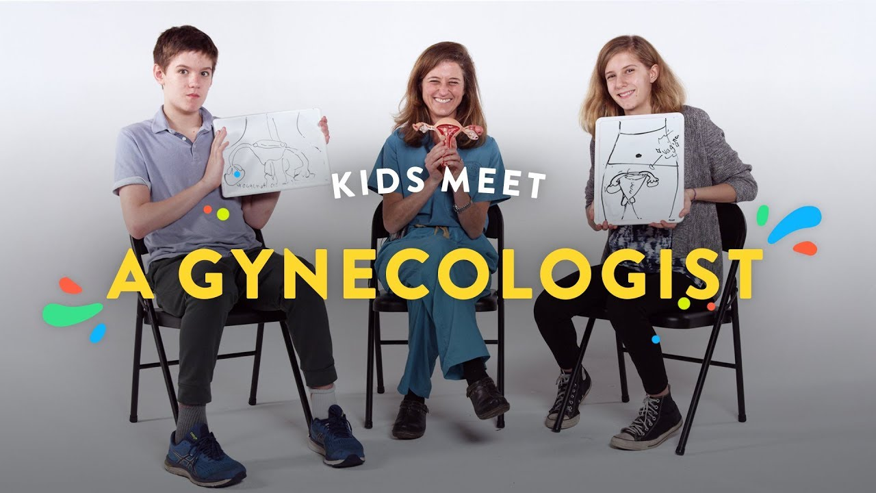 Kids Talk Vaginas With a Gynecologist | Kids Meet | HiHo Kids