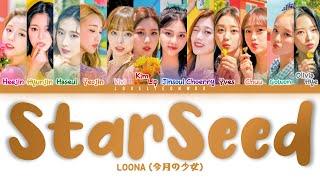 Download LOONA (今月の少女) – StarSeed ~カクセイ~ (-Kakusei-) Lyrics (Color Coded Jpn/Rom/Eng)