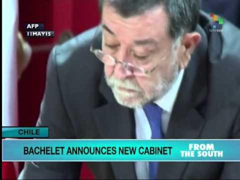 Bachelet Sacks Chilean Finance Minister