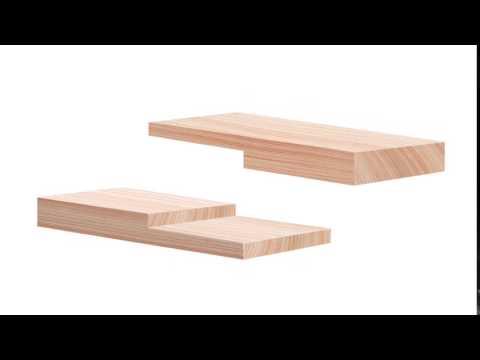 Wood Joinery - Half Lap Splice Joint