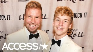 Brian Littrell's 16-Year-Old Son Baylee Will Open For Backstreet Boys On Their World Tour!