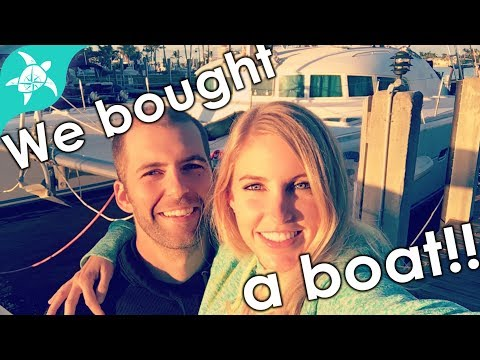 We bought a boat!