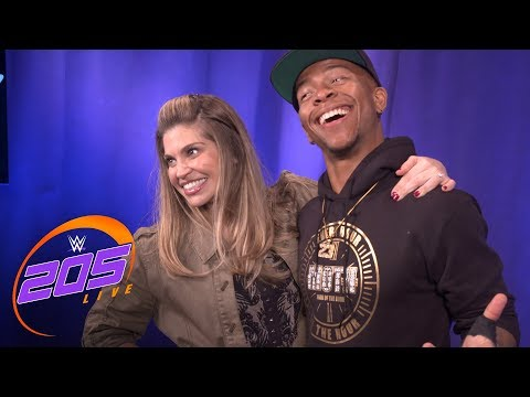 Danielle Fishel explains why she is such a big  of Lio Rush: 205 Live Exclusive, June 26, 2018