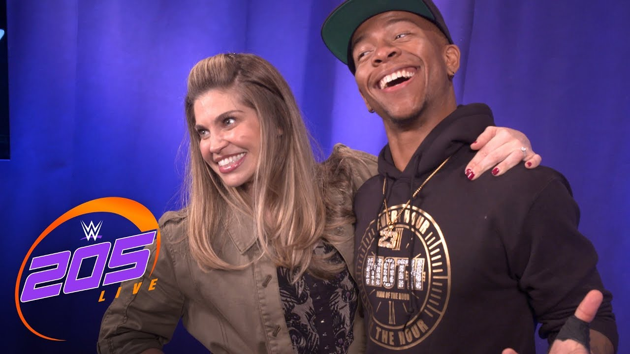 Danielle Fishel explains why she is such a big fan of Lio Rush: 205 Live Exclusive, June 26, 2018