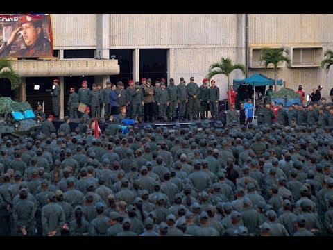 Maduro marcha con tropas en Fuerte Tiuna, 2da cadena, 2 mayo 2019