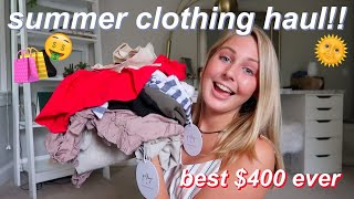 another $400 princess polly TRY-ON clothing haul :)