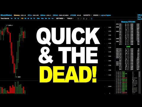 Bitcoin Price Technical Analysis - QUICK & THE DEAD! (July 20th 2017)