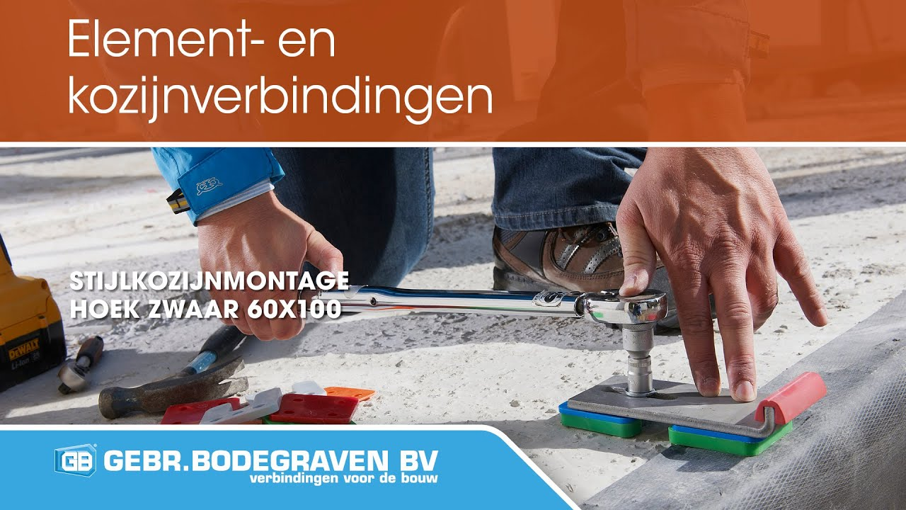 Hoekanker Zwaar Gb 60x100 60x6 Sv Bodegraven