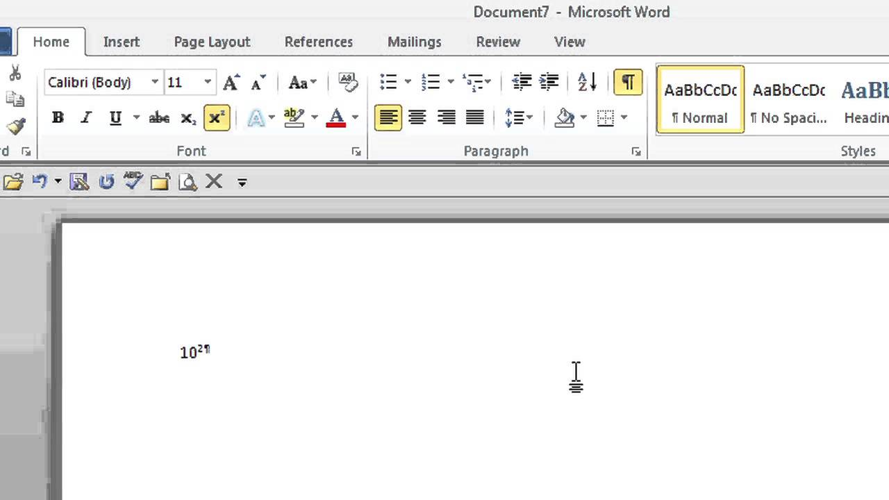How to Type 16 to the Power of 16 in Microsoft Word : Tips for Microsoft  Office & Windows