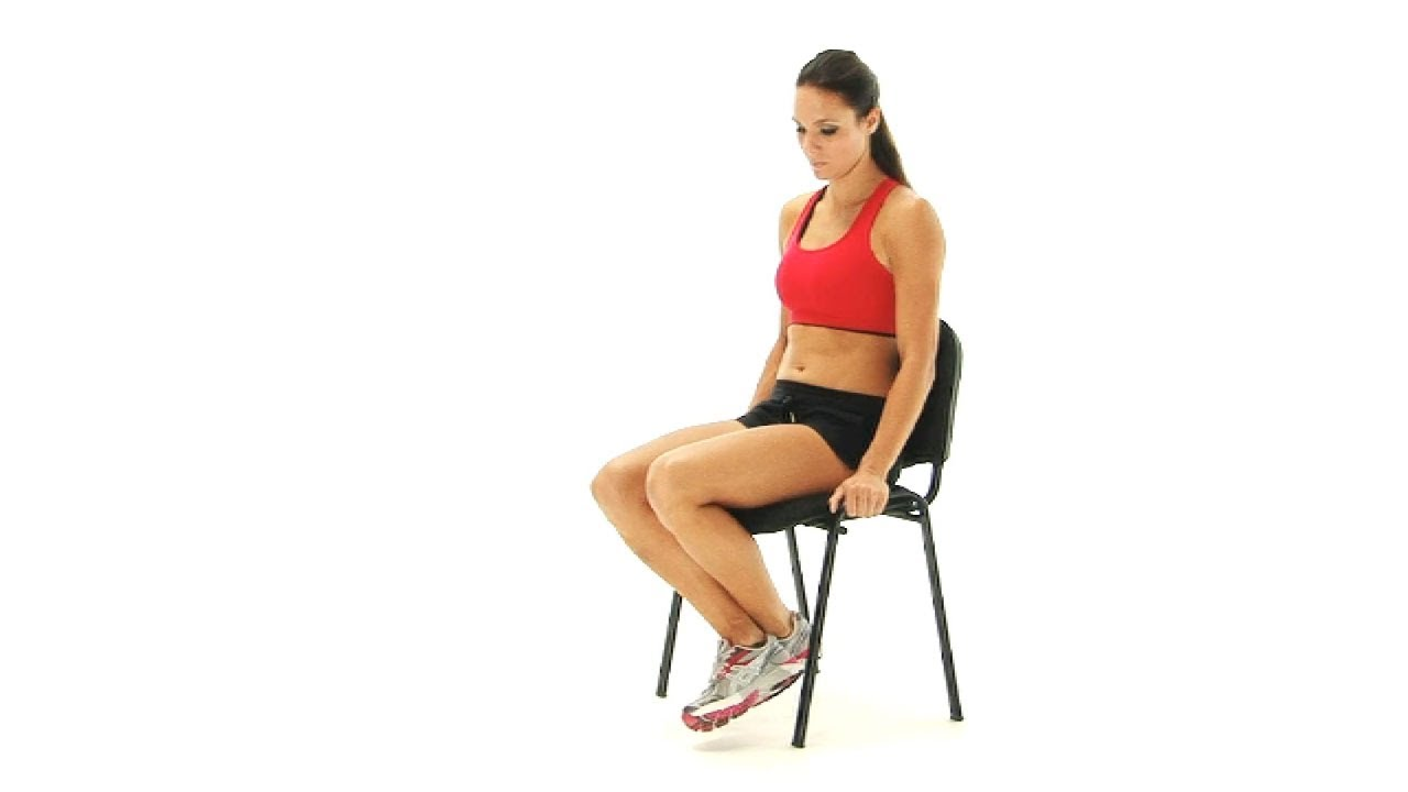 Knee Exercises  Seated Assisted knee flexion  YouTube