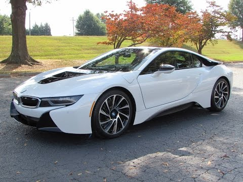 2014 / 2015 BMW i8 Start Up, Test Drive, and In Depth Review