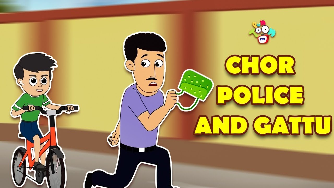 Chor Police and Gattu   Gattu Chinki and Purse Chor   Chor Chor Chor   Animated   English Cartoon