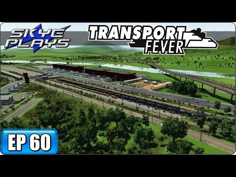Transport Fever Let's Play / Gameplay Part 60 ►BACK TO WORK!◀ (2055)