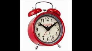 Red Twin Bell Fleet Alarm Clock