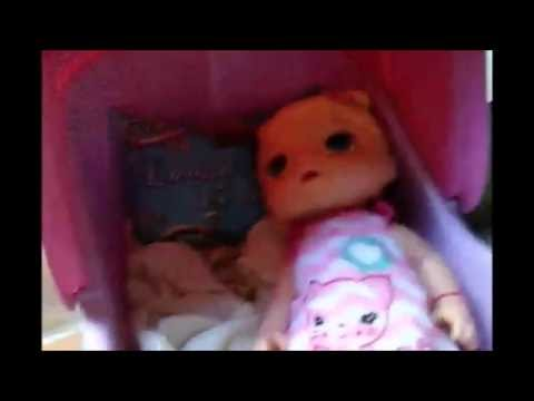 Baby Alive Cristal não quer acordar...