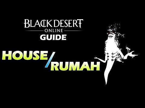 "Blackdesert Online SEA Guide Pemula Bahasa Indonesia Tentang""Rumah/House"" By : Hypeplay"