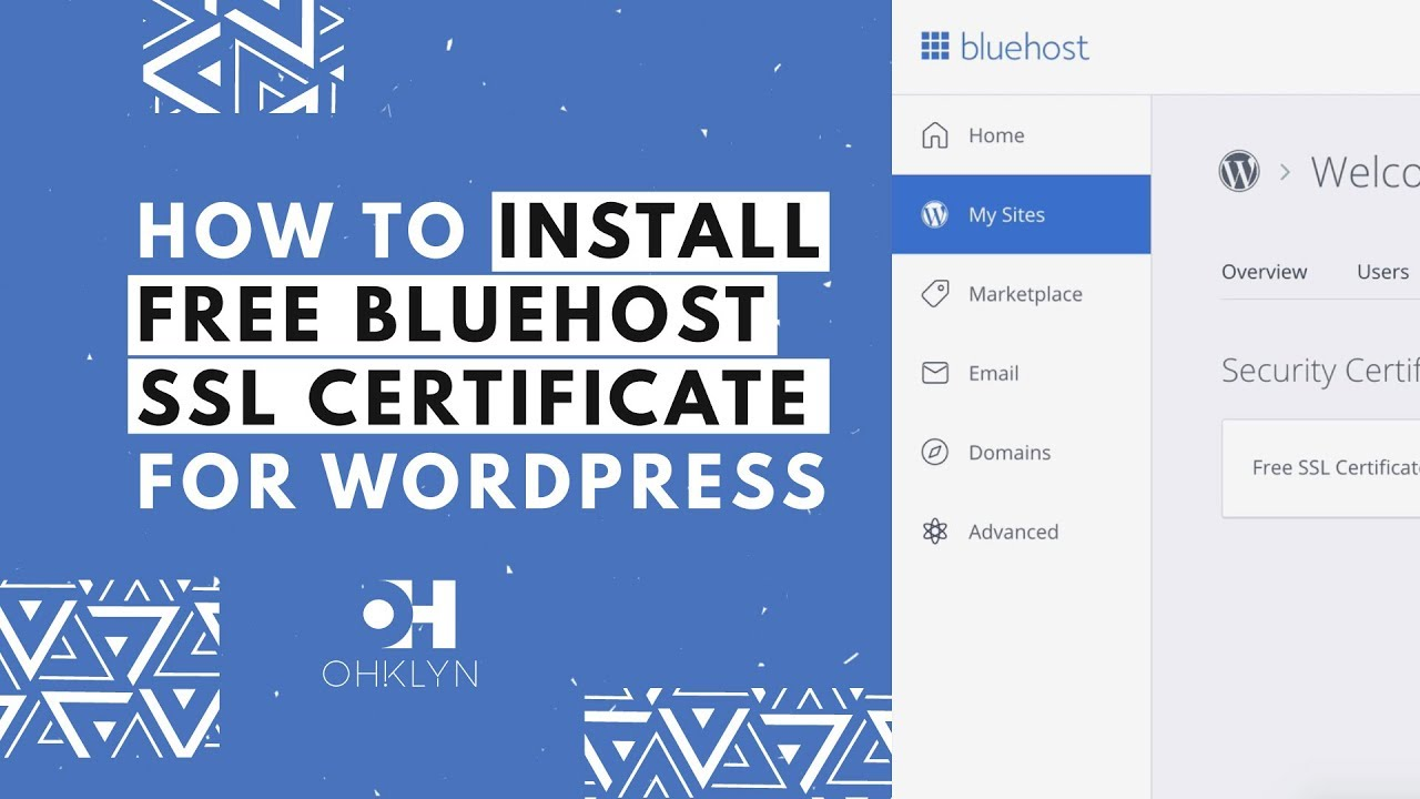 How to install ssl certificate on wordpress 2018 add free how to install ssl certificate on wordpress 2018 add free bluehost ssl https 1betcityfo Images