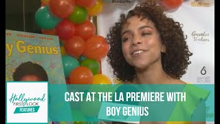 BOY GENIUS (2019) | Interviews With The Cast At The LA Premiere With RICK HONG