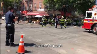 3rd Alarm Fire On 8th Avenue In Sunset Park
