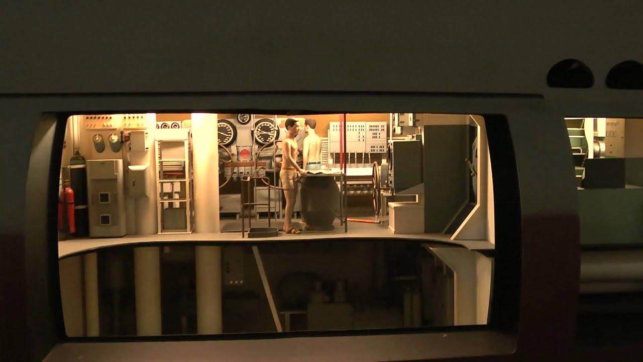 Gato Class Submarine Interior Model Youtube