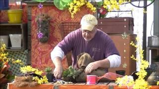 Burlap Bag Herb Planter