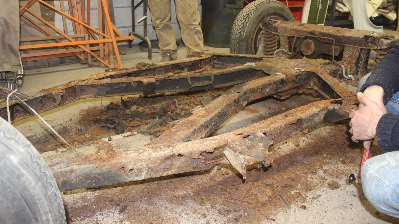 1974 Triumph Tr6 Restoration Project Part 2 A See