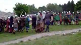 Ogrodzieniec 2008 - bitwa