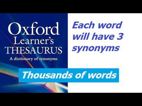 Increase Your Vocabulary With Synonyms - Intelligent Words Review