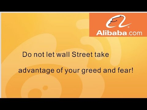Things you should know before you trade Alibaba Stock! No Greed! No Fear!
