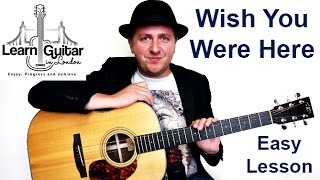 Wish You Were Here - Easy Beginners Guitar Lesson - Pink Floyd