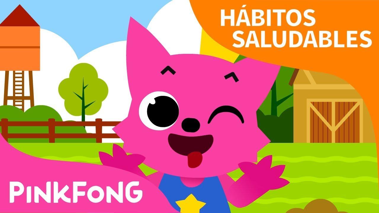 Aquí Está Hábitos Saludables Pinkfong Canciones Infantiles Youtube