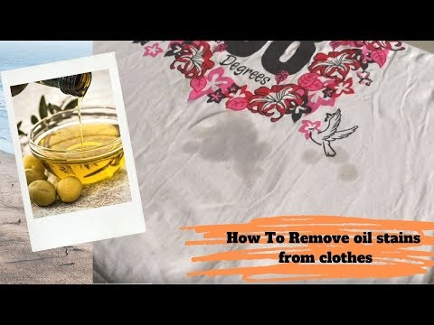कपडे के उपर का ऑइल का दाग कैसे निकाले ?How to remove oil stain from clothes at home in  hindi?