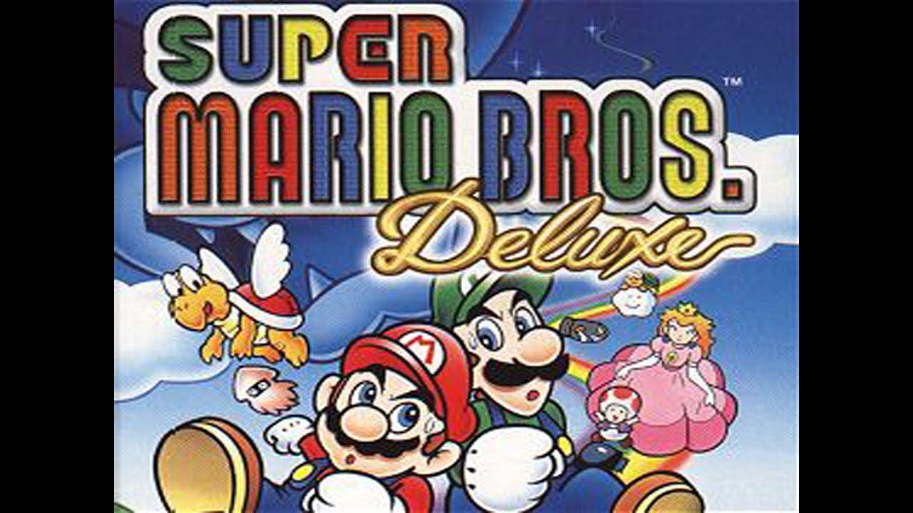 Game boy color super mario bros deluxe - Game Boy Color Super Mario Deluxe Niveles 1 Y 2